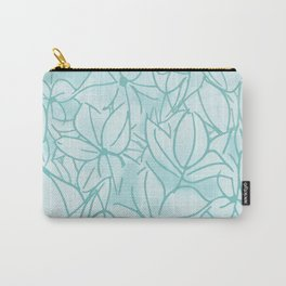 Hydrangea Bunch Carry-All Pouch