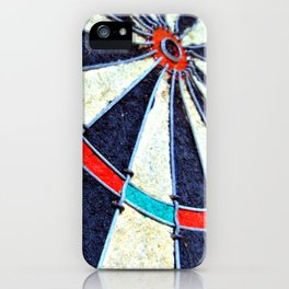 Dartboard iPhone Case