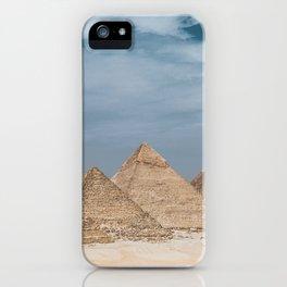 Giza Pyramid Complex iPhone Case