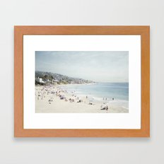 Laguna Beach Framed Art Print