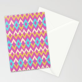 Ikat inspired Stationery Cards