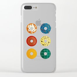 Donuts Clear iPhone Case