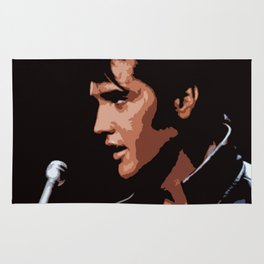 Elvis Presley Pop Art Rug