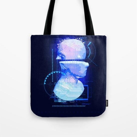 Cyber Tote Bag