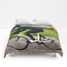 Road Cyclist Comforters