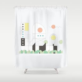 Forma 4 by Taylor Hale Shower Curtain