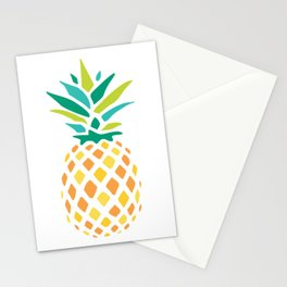 Summer Pineapple Stationery Cards