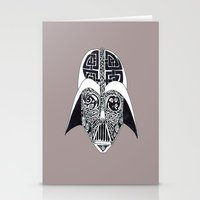 celtic Stationery Cards featuring Celtic Vader by ronnie mcneil