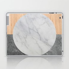 Abstract - Marble and Wood Laptop & iPad Skin