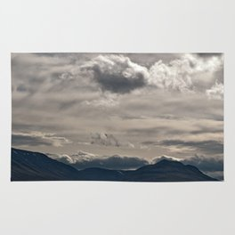 Clouds rolling over Rug