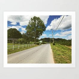 Road Walk • Appalachian Trail Art Print