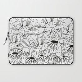 Daisy Floral Pattern 6 Laptop Sleeve