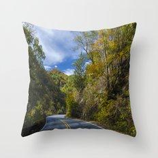 Moutain top  Throw Pillow