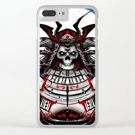 Undead Samurai Clear iPhone Case