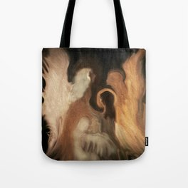 Little Family Of Angels, Abstract, by Sherriofpalmsprings Tote Bag