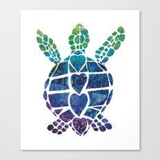 Turtle Island Canvas Print