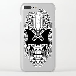 Day of the Dredd Clear iPhone Case