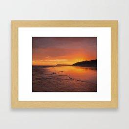 Early Sunrise Framed Art Print