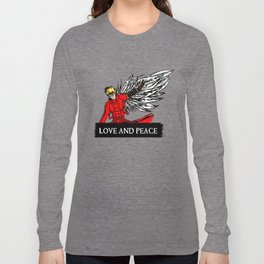 love and peace Long Sleeve T-shirt