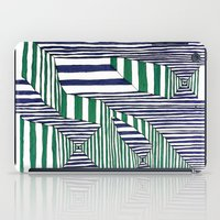 stripes iPad Cases featuring Stripes by Take Five