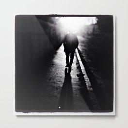 Walk Into The Light Metal Print