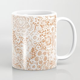 Gingerbread Lace with doves and flowers Coffee Mug