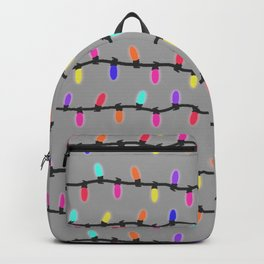 Party lights! purple Backpack