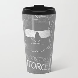 Bono Vox - 1, 2, 3, 14!? Metal Travel Mug