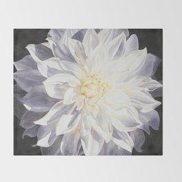 Fragile Solitude - Dahlia Throw Blanket