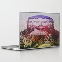 christ Laptop & iPad Skins featuring Thrice Christ by EclecticArtistACS