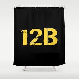 12B Combat Engineer Shower Curtain
