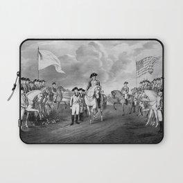 Surrender Of Lord Cornwallis At Yorktown Laptop Sleeve