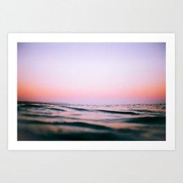 Pink Ocean (Film) Art Print