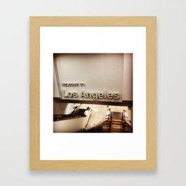 Greetings From... Framed Art Print