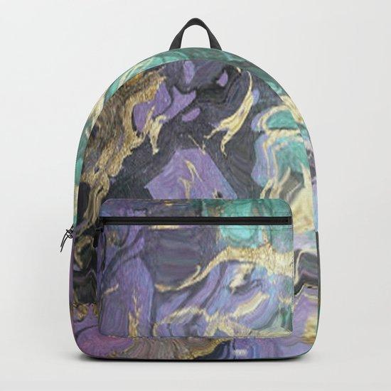 Liquid Splash Of Colors Backpack