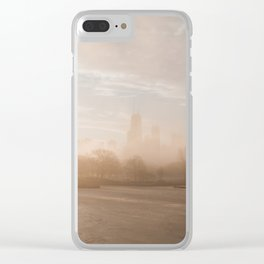 All the Mood - Chicago Clear iPhone Case