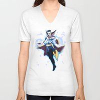 enerjax V-neck T-shirts featuring Doctor Strange by enerjax