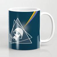 floyd Mugs featuring pink Floyd  by mark ashkenazi