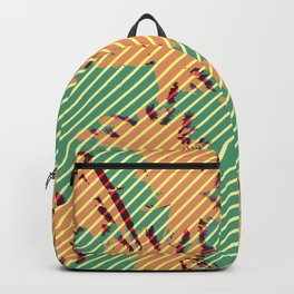 Autumn beach Backpack