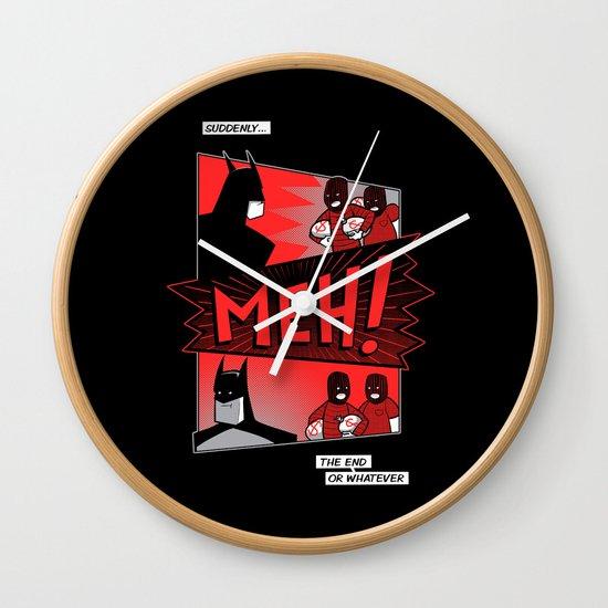 Batmeh Wall Clock