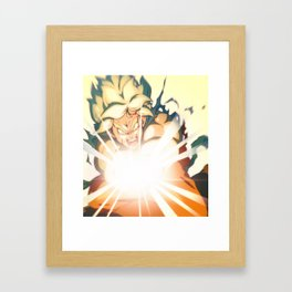 Power Levels Framed Art Print