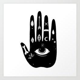 Magic Hand Art Print