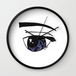 Galaxy Gaze Wall Clock