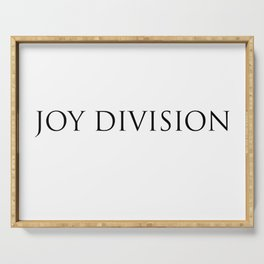 Joy Division Serving Tray