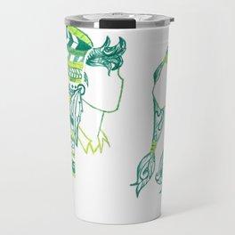 Peter Pan and Tiger Lilly Travel Mug