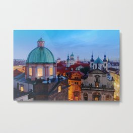 The City of a Hundred Spires Metal Print