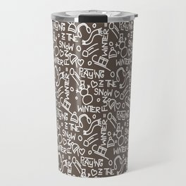 Wintergames Decoration Travel Mug
