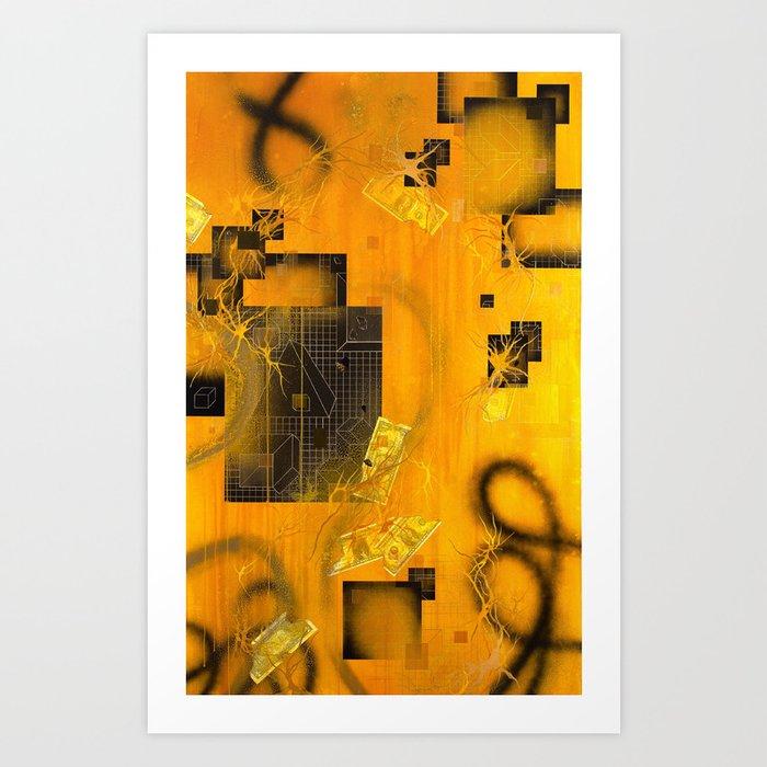 The Transmutation of Miss-Tere Art Print