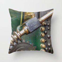 Screw Gear & Bolts Throw Pillow