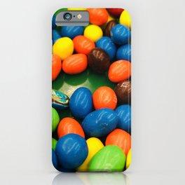 Chocolate M&M's iPhone Case